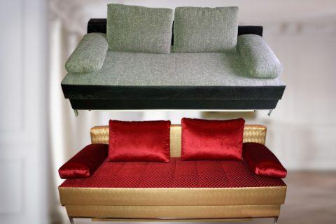 Sofa neubezogen